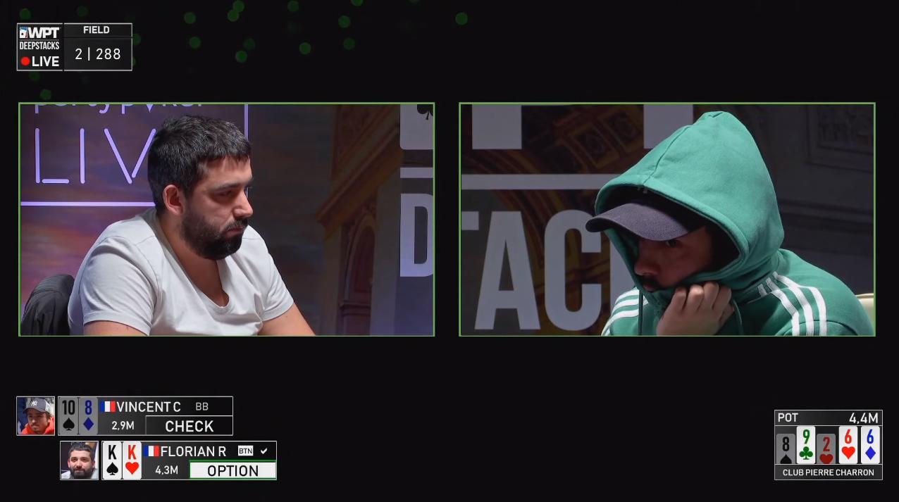 wpt deepstacks livestream in paris with wonderstream