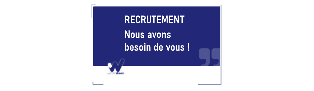 recrutement wonderstream